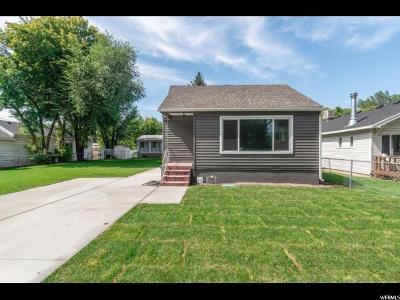 Salt Lake City Single Family Home For Sale: 2732 S 500 E