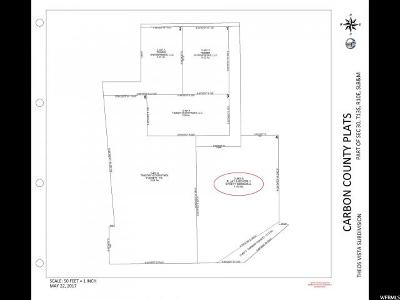 Carbon County Residential Lots & Land For Sale: 1549 W 4100 N
