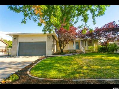 Murray Single Family Home For Sale: 1117 W Valewood Dr