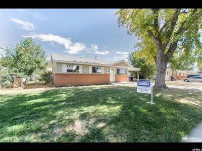 Tremonton Single Family Home For Sale: 755 S 150 W