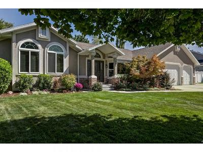 Salt Lake City Single Family Home For Sale: 4629 S Stockbridge Ln E