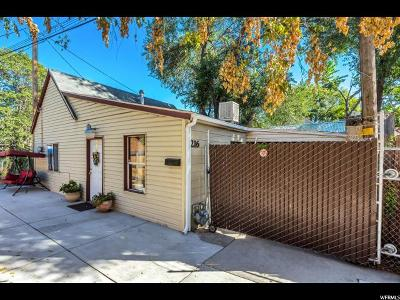 Salt Lake City Single Family Home For Sale: 216 N 900 W