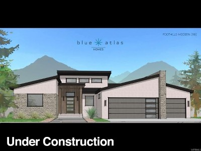 Herriman Single Family Home For Sale: 7329 W Summit Crest Cir S
