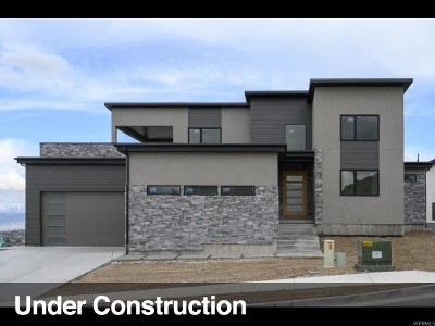 Herriman Single Family Home For Sale: 7321 W Summit Crest Cir
