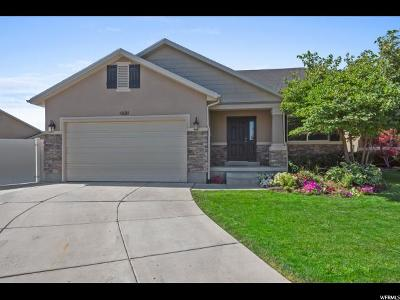 Herriman Single Family Home For Sale: 4621 W Marlin S