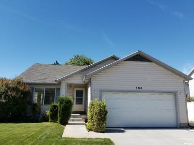 Stansbury Park Single Family Home For Sale: 6715 Greenfield Ln