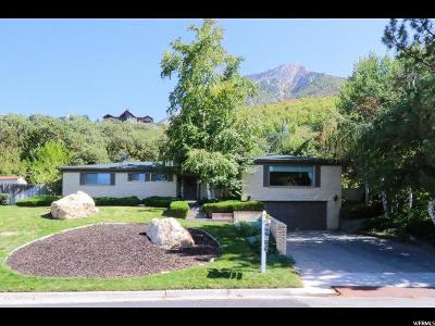 Salt Lake City Single Family Home For Sale: 4627 S Fortuna E