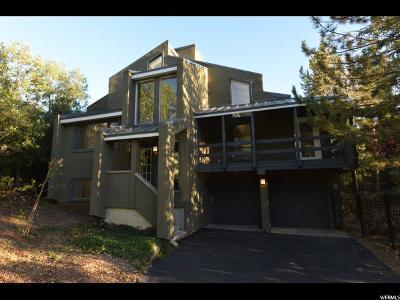 Salt Lake City Single Family Home For Sale: 6670 E Emigration Cyn