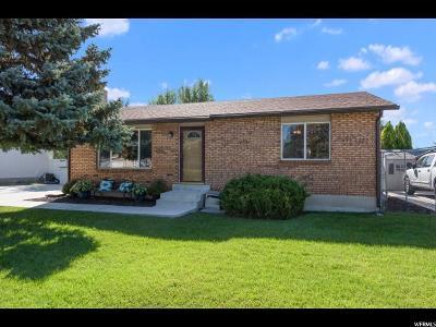 West Jordan Single Family Home For Sale: 3893 W Misty Dr S