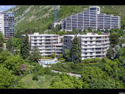 Salt Lake City Condo For Sale: 900 S Donner Way #708
