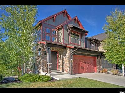 Wasatch County Townhouse For Sale: 860 W Benjamin Pl
