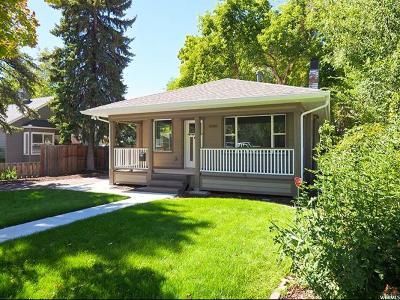 Salt Lake City Single Family Home For Sale: 2330 S Green E