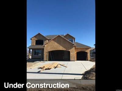 Bluffdale Single Family Home For Sale: 15359 S Revolutionary Way W