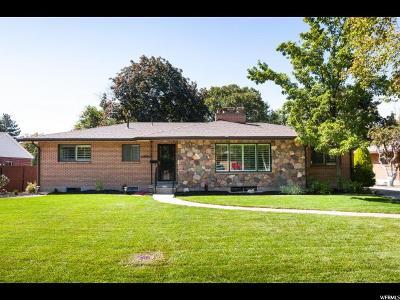 Salt Lake City Single Family Home For Sale: 3610 S Wellington St