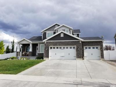West Jordan Single Family Home For Sale: 6261 W Swan Ridge Way W
