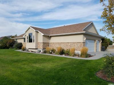 Grantsville Single Family Home For Sale: 60 Trackside Cir #7