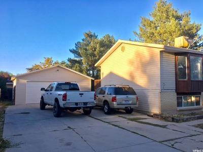 West Jordan Single Family Home For Sale: 3766 W Sumter Dr