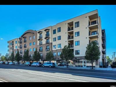 Salt Lake City Condo For Sale: 2150 S Main St E #307