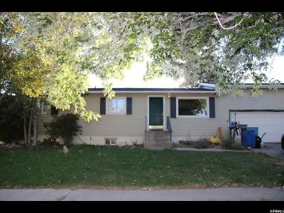Tooele Single Family Home For Sale: 640 N 100 W
