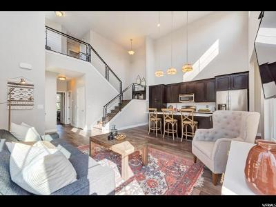 South Jordan Townhouse For Sale: 10317 S Silver Mine Rd
