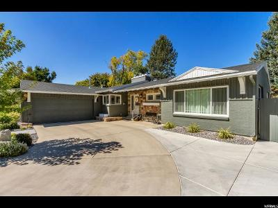 Holladay Single Family Home For Sale: 1623 E Lone Peak Dr S