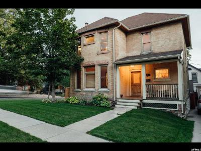 Salt Lake City Single Family Home For Sale: 740 E Third Ave