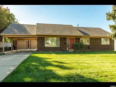 Holladay Single Family Home For Sale: 2118 E Terra Linda Dr