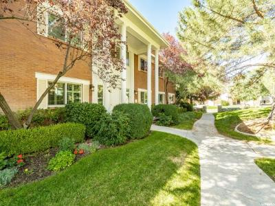 Salt Lake City Condo For Sale: 2708 S Highland Dr #10