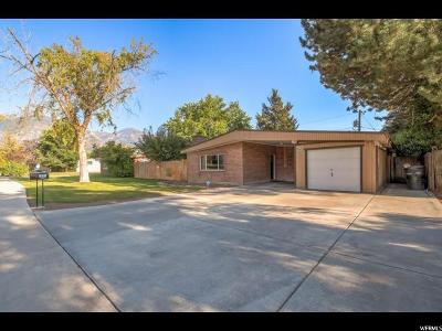 Provo UT Single Family Home For Sale: $287,000