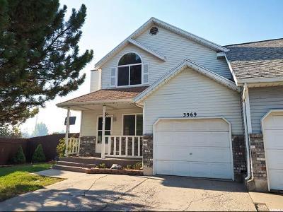 West Jordan Single Family Home For Sale: 3969 W 8790 S