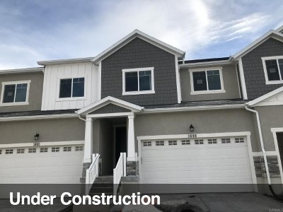 Lehi Townhouse For Sale: 3699 W 1700 N #1022