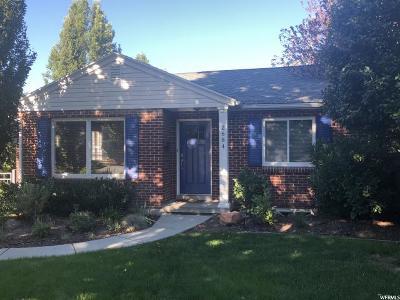 Salt Lake City Single Family Home For Sale: 2684 S Melbourne E
