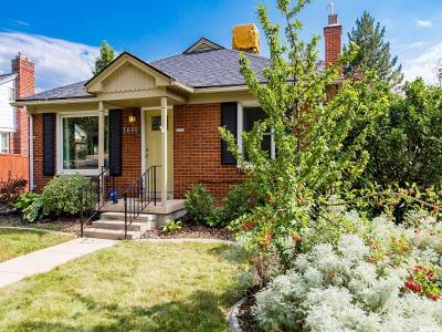 Salt Lake City Single Family Home For Sale: 1680 E Downington S