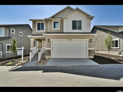 Herriman Single Family Home For Sale: 4993 W Sarasota Way S