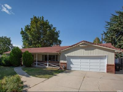Holladay Single Family Home For Sale: 2635 E Melony Dr