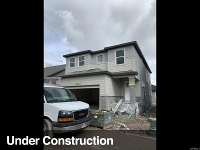 Lehi Single Family Home For Sale: 4042 W 1760 N #917