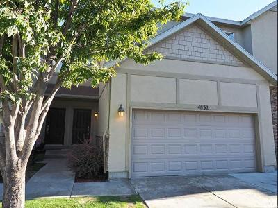 Riverton Townhouse For Sale: 4832 W Anise St