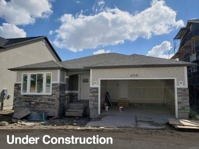 Lehi Single Family Home For Sale: 4041 W 1760 N #920