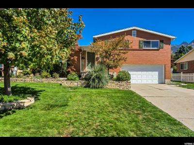 Holladay Single Family Home For Sale: 3925 S Sunnydale Dr E