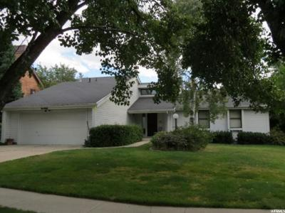Sandy Single Family Home For Sale: 2458 E Cheshire Dr