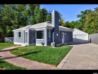 Salt Lake City Single Family Home For Sale: 1423 E 3150 S