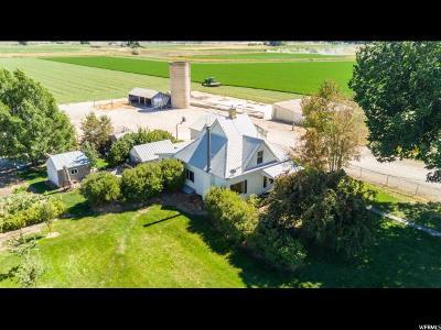 Trenton Single Family Home For Sale: 1014 N 400 W