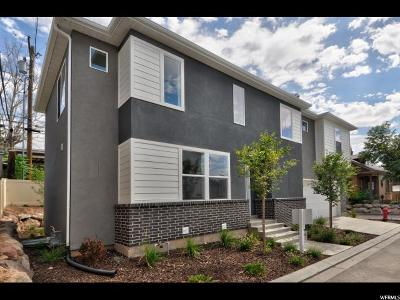 Salt Lake City Single Family Home For Sale: 551 S McClelland St E #105
