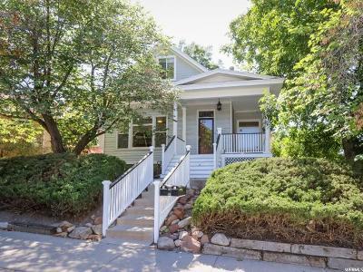 Salt Lake City Single Family Home For Sale: 1210 E Sherman Ave