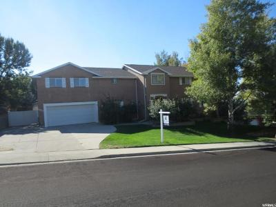 Orem Single Family Home For Sale: 1672 N Mountain Oaks Dr. E