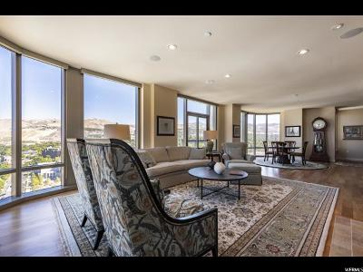 Salt Lake City Condo For Sale: 99 W South Temple St #2406