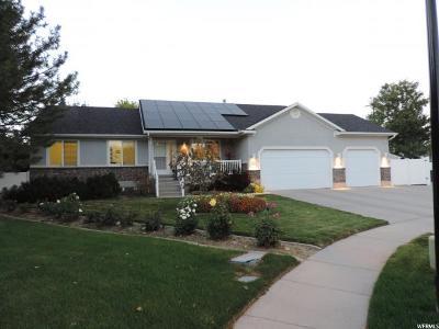 Murray Single Family Home For Sale: 945 E Tahnia Park Circle S