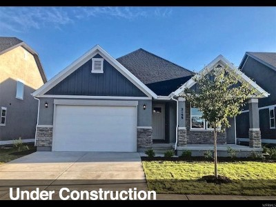 Mapleton Single Family Home For Sale: 2233 W Silver Leaf Dr #24