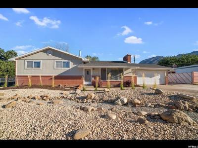 Cottonwood Heights Single Family Home For Sale: 2721 E 7265 S