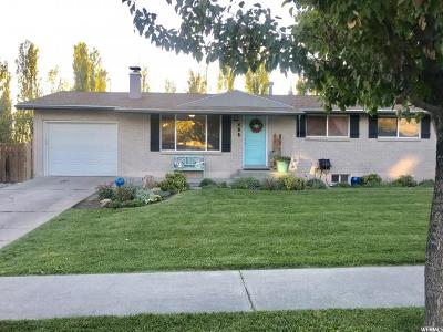 Smithfield Single Family Home For Sale: 495 W Wasatch Blvd N